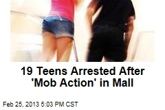 19 Teens Arrested After 'Mob Action' in Mall