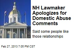 NH Lawmaker Apologizes for Domestic Abuse Comments
