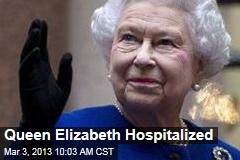 Queen Elizabeth Hospitalized