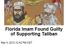Florida Imam Found Guilty of Supporting Taliban