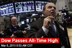 Dow Passes All-Time High