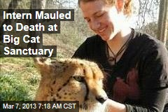 Intern Mauled to Death at Big Cat Sanctuary