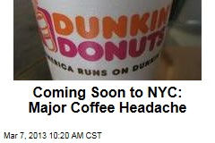 Coming Soon to NYC: Major Coffee Headache