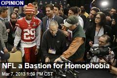 NFL a Bastion for Homophobia
