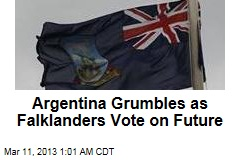 Argentina Grumbles as Falklanders Vote on Future