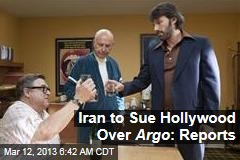 Iran to Sue Hollywood Over Argo : Reports