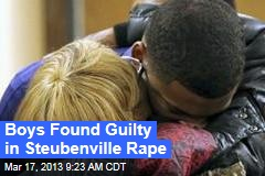 Boys Found Guilty in Steubenville Rape