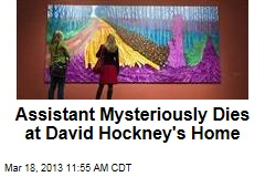 Assistant Mysteriously Dies at David Hockney's Home