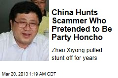 Fake Chinese Minister Duped Party for Years