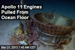 Apollo 11 Engines Pulled From Ocean Floor