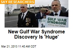 New Gulf War Syndrome Discovery Is 'Huge'