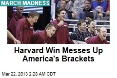 Harvard Upsets New Mexico, 68-62