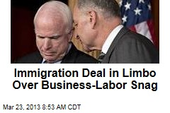 Immigration Deal in Limbo Over Business-Labor Snag