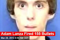Adam Lanza Fired 155 Bullets