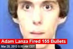 Adam Lanza Fired 155 Bullets