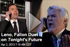 Leno, Fallon Duet on Tonight 's Future