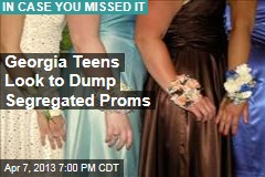 Georgia Teens Look to Dump Segregated Proms