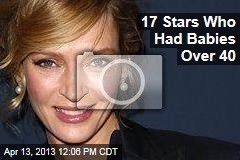 17 Stars Who Had Babies Over 40