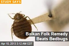 Balkan Folk Remedy Beats Bedbugs