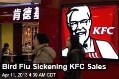 Bird Flu Sickening KFC Sales