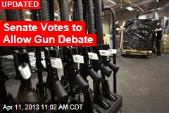Senate's Gun Control Debate: Let the Showdown Begin
