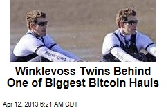 Winklevoss Twins Behind One of Biggest Bitcoin Hauls