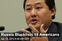 Russia Blacklists John Yoo, Gitmo Honchos