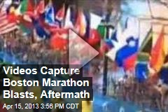 Videos Capture Marathon Explosion, Aftermath