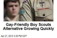 Gay-Friendly Boy Scouts Alternative Growing Quickly