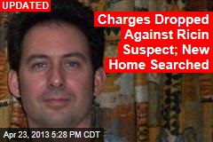 Ricin Suspect Released From Jail