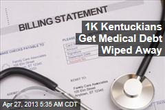 1K Kentuckians Get Medical Debt Wiped Away