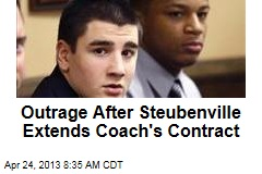 Outrage After Steubenville Extends Coach's Contract
