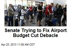 Senate Trying to Fix Airport Budget Cut Debacle