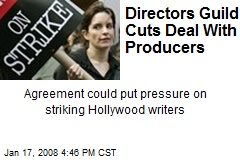 Directors Guild Cuts Deal With Producers