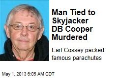 Man Tied to Skyjacker DB Cooper Murdered