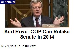 Karl Rove: GOP Can Retake Senate in 2014