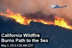 2K Homes in Danger as Calif. Wildfires Spread