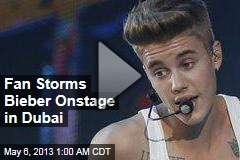 Bieber 'Attacked' On Stage in Dubai