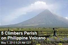 5 Climbers Killed as Philippine Volcano Spews Huge Rocks