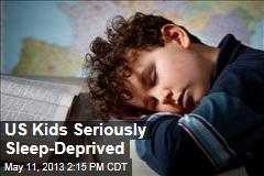 US Kids Seriously Sleep-Deprived