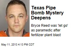 Texas Pipe Bomb Mystery Deepens