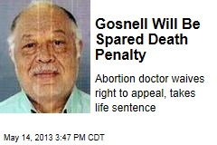 Gosnell Will Be Spared Death Penalty