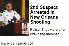 2nd Suspect Arrested in New Orleans Shooting