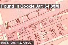 Found in Cookie Jar: $4.85M