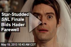 Star-Studded SNL Finale Bids Hader Farewell