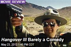 Hangover III Barely a Comedy