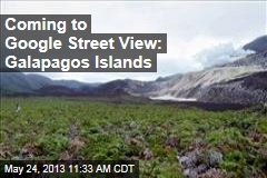 Coming to Google Street View: Galapagos Islands