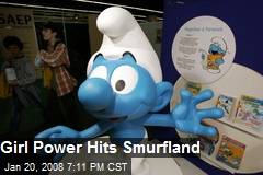 Girl Power Hits Smurfland
