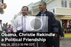 Obama, Christie Rekindle a Political Friendship