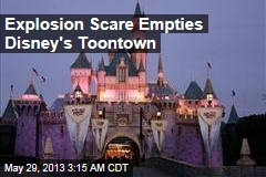 Explosion Scare Empties Dsney's Toontown